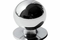 Ручка-кнопка-Шар-хром-54L