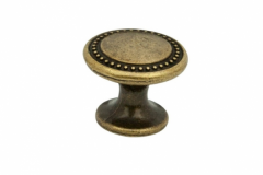 Ручка-кнопка-бронза-античная-d28