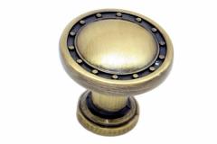 Ручка-кнопка-бронза-античная