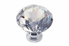 Ручка-кнопка-30мм-хром-кристаллы