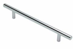 Ручка-рейлинг-хром-диаметр-10мм-длина-ручки-156мм.-Присадка-на-96мм.