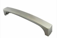 Ручка-скоба длина 128 мм матовый хром