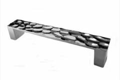 Ручка-скоба длина 128 мм хром